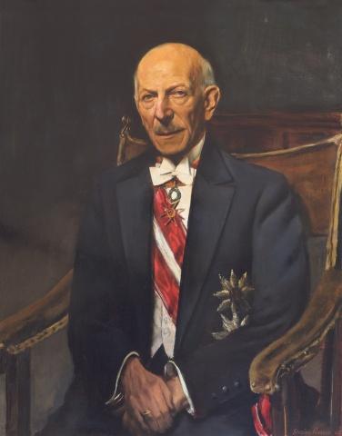 1944 entstand – gemalt von Sergius Pauser (1896 bis 1970) – ein meisterhaftes Porträt Otto Enders, das nun erstmals in Vorarlberg zu sehen ist.