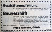 1937 Wilhelm & Mayer