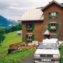 """Familie Berthold, Vorarlberg-Urlaub 1993: """"Bis zur Wende fremdes Ausland."""""""