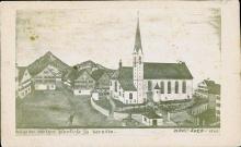 Die Vorgängerkirche der heutigen Stadtpfarrkirche St.Martin. (2)