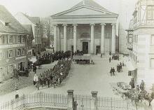 Der Marktplatz vor 100 Jahren – aufgenommen im Jahr 1915. (3)