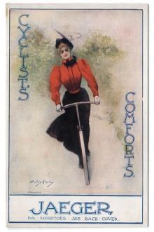 Titelbild eines Katalogs für den amerikanischen Markt um 1900