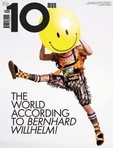 """Der aus Dornbirn stammende Fotograf wurde wie hier vom """"10Magazine"""" schon für viele Cover-Shoots engagiert."""