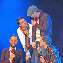 Maybebop. Vier schräge Typen aus Deutschland, absolute Publikumslieblinge in der A-cappella-Szene. In Vorarlberg sind sie regelmäßig zu Gast.