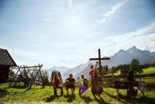 berge.hören. Kultur- und Genusswanderungen im September mit einzigartigen Künstlerinnen und Künstlern zu den schönsten Berghütten der Region.