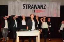 """Strawanz. Bezau war Schauplatz des internationalen Amateurtheaterfestivals """"Strawanz"""". Zentrales Thema: Grenzen der Sprache und der Nationalität überwinden."""