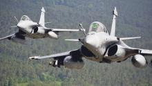 """""""Rafale"""" vom französischen Herstellers Dassault, hat mit der Firma Eurofightern und ihren Produkten nichts zu tun hat."""