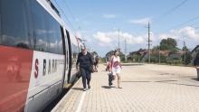 Beispiel Bahnhof: Anteil des Öffentlichen Verkehrs am Gesamtverkehr auf städtischem Niveau.