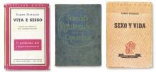 Covers von Steinach-Publikationen: italienisch, englisch, spanisch.