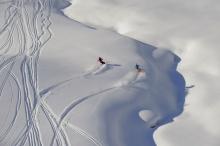 1982 überholt der Wintertourismus erstmals den Sommertourismus (Foto: Sepp Mallaun, Vorarlberg Tourismus)