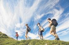 Wintertourismus noch vorne, Sommer holt auf (38 Prozent mehr Gäste in den vergangenen zehn Jahren) – auch weil Touristiker verstärkt darauf abzielen; Ziel: Vorarlberg zu einer Ganzjahres–Destination zu machen (Foto: Andreas Gaßner, Vorarlberg Tourismus)