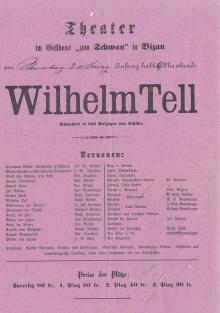 """Gebhard Wölfle in der Hauptrolle als """"Wilhelm Tell"""","""