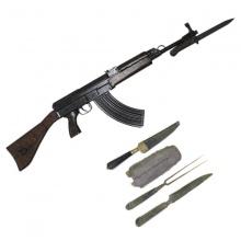 Gewaltdelikte nahmen 2016 zu. Der Exekutive bereiten illegale Waffen Kopfzerbrechen. Tatwaffen landen in der Asservatenkammer des Gerichts.