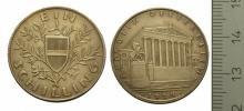 """Ein Schilling, 1924. Zurecht wurde der stabile Schilling der 1. Republik auch als """"Alpendollar"""" bezeichnet. © Geldmuseum der oesterreichsichen Nationlbank"""
