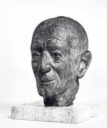 Ender-Porträtkopf aus Bronze von Emil Gehrer, 1964  ©  Fotos: Markus Tretter, Günter König, Johanna Kreis