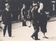 Verhaftung Otto Enders am 27. März 1938 in Bregenz  ©  Fotos: Markus Tretter, Günter König, Johanna Kreis