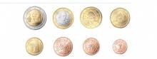 Euromünzen, 2018. Die österreichischen Euro-Münzen haben Themen wie Frieden, Kunstepochen, Natur und die Erinnerung an den Schilling als Motiv.