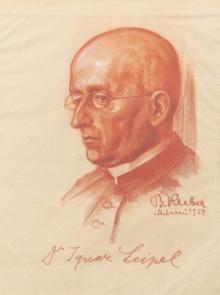Ignaz Seipel, 1924 porträtiert von Bartle Kleber  ©  Fotos: Markus Tretter, Günter König, Johanna Kreis